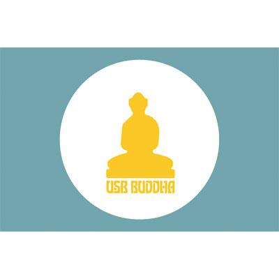 11 USB Buddha Logo