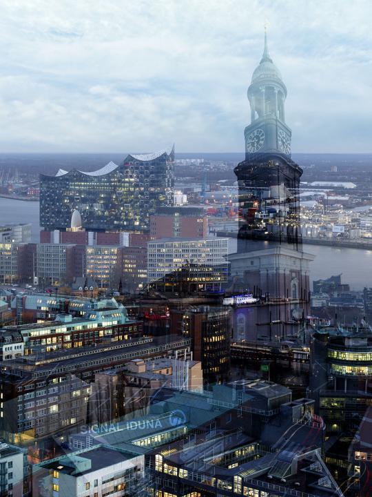 Signal Iduna - Hamburg © 2019, Dieter Rehm & Peter Reill